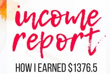 Blog Income Report / first month blog income report. how to make money blogging for beginners