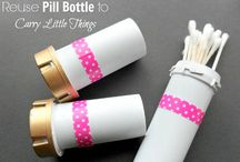 Camping / Make these for the kids' toiletry bags. Let them decorate themselves.