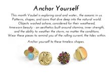 Anchor Yourself / Vaubel Designs releases the Anchor Yourself collection. Shop the collection here:  https://vaubeldesigns.com/collections/anchor/