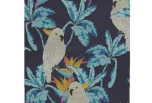 Exotic Botanicals / The popularity of botanical prints in interiors show no sign of waning! Here are some lovely designs to add colour to your space....