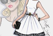 Fashion Illustration / Hayden Williams and others