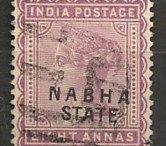 India - Nabha Stamps