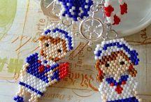 Brick stitch-miniaturki