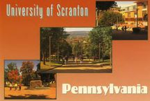 Drop us a Line! Postcards and Ads from the UofS / A board of historic postcards and advertisements for the University of Scranton  / by University of Scranton Weinberg Memorial Library