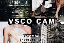FILTROS VSCO / FILTERS VSCO