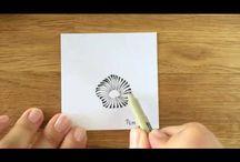 Zentangle pattern videos