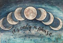 moon art , crafts