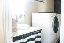laundry room inspiration / by Courtney Foster