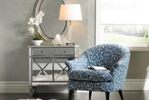Mirrored Furniture for Bedrooms & Living Areas / All about mirrored furniture pieces for less I'm all about saving BIG, so these mirrored tables, nightstands, dressers and chests have the price that's small!