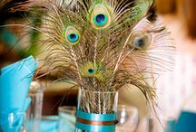 All Things Peacock / I love the colors of the peacock! Here are some ways to incorporate it into your home!
