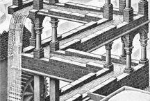 M C Escher / by audrey skelton