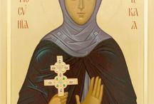 Icons of  of St Euphrosyne of Polotsk