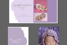 Templates for Baby Photographers / Included in this board are design templates for birth announcements, collage art, image boxes, albums and marketing material.  Free to download.