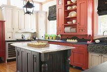 Kitchen Ideas / by Ann Tremblay Pirone