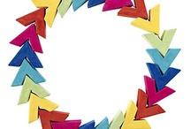 Gotta make a color-wheel wreath for next xmas