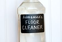Clean Up Your Act / DIY Cleaners