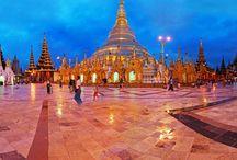 Pagoda at Shwedagon Myanmar