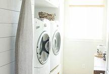 Salle familiale et de lavage