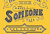 Lettering/Quotes