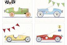 biler /tegning/maling