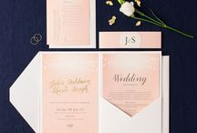 Pocketfold Invitation sets