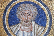 Byzantine mosaics in Ravenna (RA) / Ancient mosaics of Byzantune tecnique #mosaic #ancient #Ravenna #Romagna #Italy