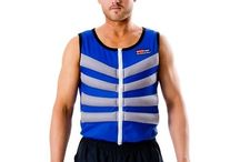 Arctic Heat Body Cooling Vests / Photos of Arctic Heat Ice Vests keeping people cool.