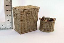 Miniatures: Wicker & weaving