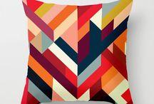 Cushions & puffs / by Marjorie Retana