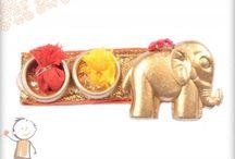 Rakhi Thali Collection 2016 - Designer Roli Chwal Dish. / order and send small designer roli-chawal set online from bablarakhi rakhi to your brother. send rakhi gift to india, usa, uk and australia at competitive rates. http://www.bablarakhi.com/