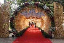 Indian Wedding Entrance Decor & Ideas