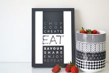 YBcreative > PRINTS / #ybcreative || Modern prints combining handwriting & sleek typography || http://ybcreative.com.au/shop