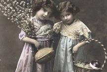 Vintage children! / Decoupage!