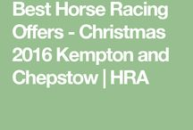 Best Horse Racing Offers - Christmas 2016 Kempton and Chepstow