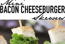Mini burgers / Burger Appetizers