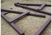 Ogród, meble, drewno DIY
