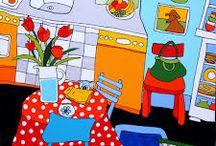 Schilderij / Keuken