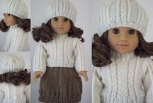18 inch doll knits