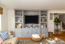 ** builtins ** / builtin cabinetry / by Megan Bachmann