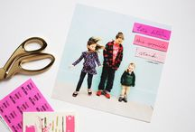 DIY |scrapbook love / inspired by A Beautiful Mess & Smile And Wave
