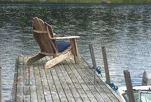 Adirondack chairs / Finish summer