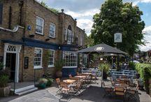 London Beer gardens