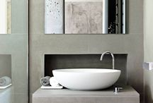 Vanity Top / Limestone, marble and other natural stone inspiration for bathroom vanity tops.