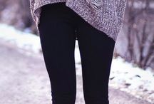 Autumn/Winter clothing  / A collection of cozy and comfortable clothing perfect for the colder seasons.