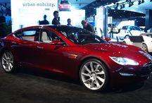 Our New Car / Tesla Sedan S  ALL electric car