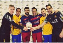 Ter Stegen , Neymar JR , Arda Turan , Dani Alves i Jordi Alba