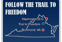Trail to Freedom / The Trail to Freedom was initiated in 2009 by the Fredericksburg-Stafford-Spotsylvania Sesquicentennial Committee in an effort to commemorate and interpret the experiences of more than 10,000 slaves who passed through this region between April and September 1862. http://www.trailtofreedom.com
