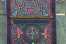 Shipibo Accessories / tribal jewlry tribal bag