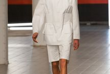 Notes from the Runway: Damir Doma Men s/s 2013/2014 / The world of Damir Doma, is very industrial and full of plastic arts.  The collection was Damir Doma polished and gritty.  Was the designer inspired by the Chrysler Building for his Men s/s 2013/2014 collection? Review on http://stylecartel.com/ #menscollections  Photos by Rudy our Photo Editor