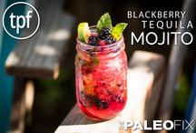 Paleo Drink Recipes / A collection of paleo cocktail recipes for all occasions.